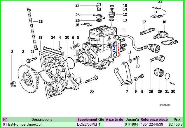 forum technique associatif de darkgyver e34 m51 an93 fuite gasoil r solu moteur. Black Bedroom Furniture Sets. Home Design Ideas