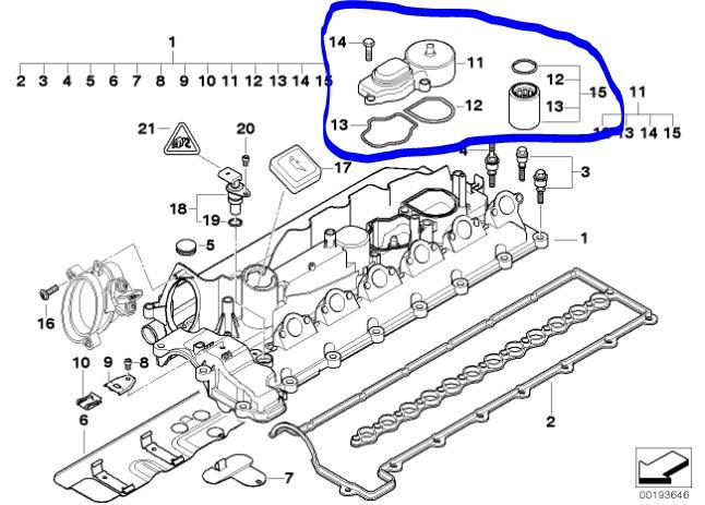 forum technique associatif de darkgyver  u2022  e46 m47 pr08  00  nettoyage vanne egr   moteur