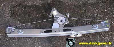 rta bmw de darkgyver - remplacement du lève vitre de porte arrière