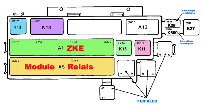 Schema Electrique Autoradio Bmw E46 : rta bmw de darkgyver localisation module zke e32 ~ Pogadajmy.info Styles, Décorations et Voitures