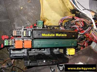 RTA BMW de DarkGyver - Localisation Module_Relais_E34 - Localisation