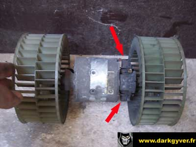 rta bmw de darkgyver remplacement ou r paration du moteur ventilation e34 fa e32. Black Bedroom Furniture Sets. Home Design Ideas