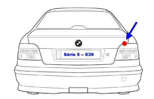 RTA BMW de DarkGyver - Localisation relais prepompe E39 M51