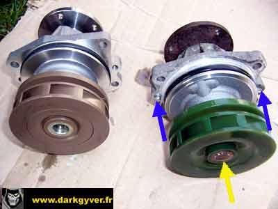 RTA BMW de DarkGyver - Remplacement pompe à eau M51 ...
